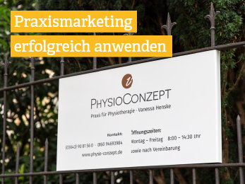 Praxismarketing Physiotherapie